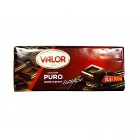 Valor 300g bar Pure chocolate