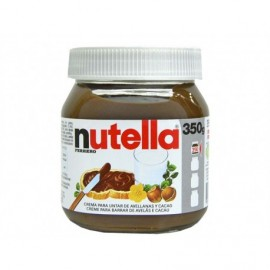 Nutella 350g glass jar Cocoa and hazelnut spread