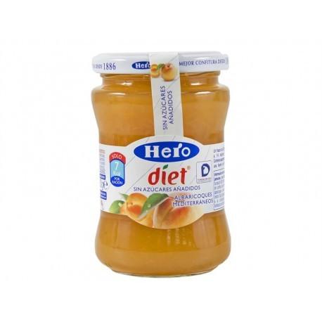 Hero Diet Mermelada Light de Albaricoque Tarro 280g