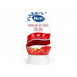 Hero Mermelada de Fresa Sin Trozos Bocabajo Bote 350g