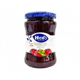 Hero 340g glass jar Selected raspberry jam