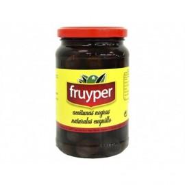 Fruyper Glass jar 340g Cal. 500/600 Cuquillo Natural Black Olives