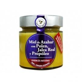 La Obrera del Colmenar 300g glass jar Pollen honey, jelly and propolis