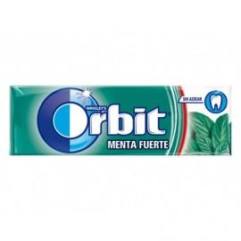 Orbit Chicles de Menta Fuerte Sin Azúcar Paquete 10 Grageas