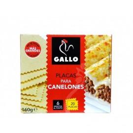 Gallo Teller für Cannelloni 20 Einheiten - 160 g