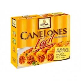 El Pavo Einfache Cannelloni Schachtel mit 12 Tellern - 80 g
