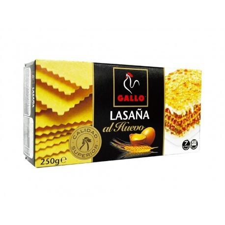 Gallo Package 20 Plates Egg Lasagna