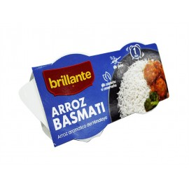 Brillante Arroz Basmati Pack 2x125g