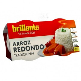 Brillante 2x125g pack Traditional round rice