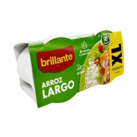 Brillante Arroz Largo Pack 2x200g