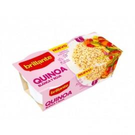 Brillante 2x125g pack White and red quinoa