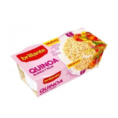 Brillante Quinoa Blanca y Roja Pack 2x125g