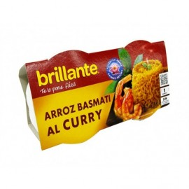 Brillante Arroz Basmati al Curry Pack 2x125g