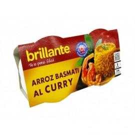 Brillante Riz basmati au curry Pack 2x125g
