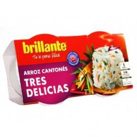 Brillante 2x125g pack Rice 3 delicies