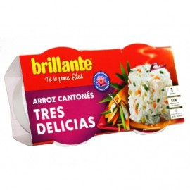 Brillante Arroz 3 Delicias Pack 2x125g