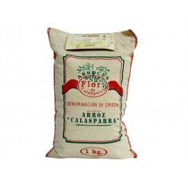 Flor de Calasparra Arroz Redondo de Calasparra D.O Saquito 1kg