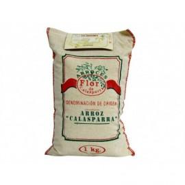 Flor de Calasparra Saquito 1kg Calasparra DO round rice for paella