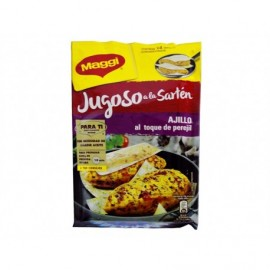 Maggi 23.7g bag Spices for Chicken with juicy garlic in the pan