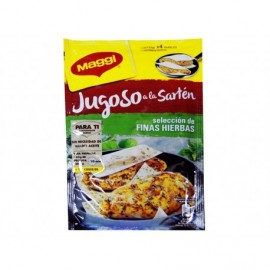 Maggi 23.4g bag Spices for juicy chicken in a pan with fine herbs