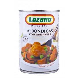 Lozano Albóndigas con Guisantes Tarro 425g