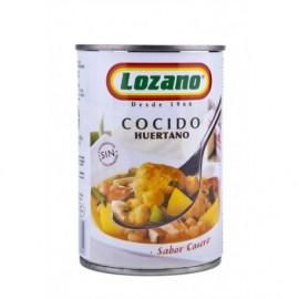 Lozano Tin 425g Huertano cooked