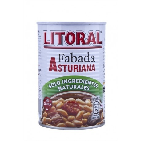 Litoral Fabada Asturiana Lata 435g