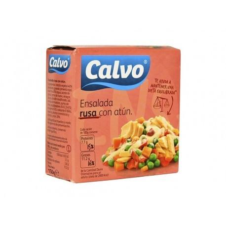 Calvo Ensaladilla Rusa con Atún ¡Listas para Comer! Envase 150g