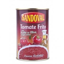 Sandoval Gebratene Tomatensauce in Olivenöl extra vergine konserven 420g halten