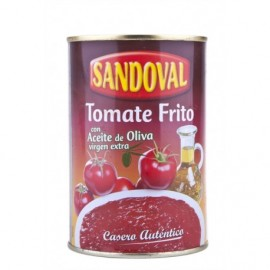 Sandoval Sauce Tomate Frite à l'Huile d'Olive Extra Vierge Conserve 420g