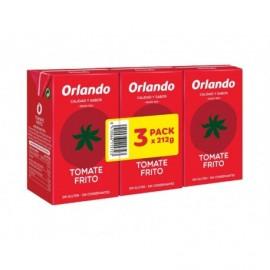 Orlando Tomate Frito Pack 3x212g