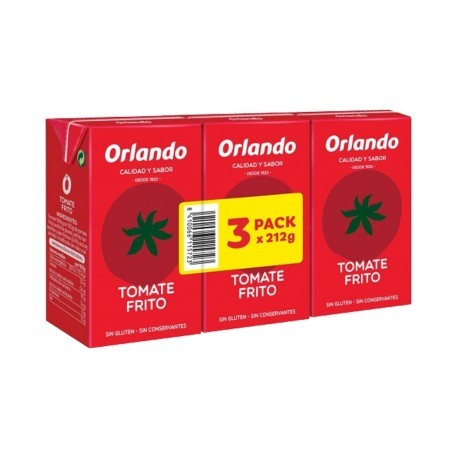 Orlando Pack 3x212g Fried Tomato Sauce