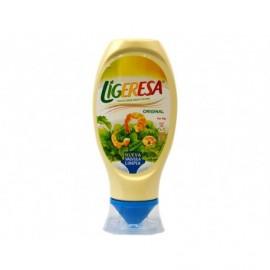 Ligeresa Mayonnaise mit dem Gesicht nach unten 430 ml Glas