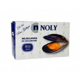 Noly Moules Sauce Escabèche Conserve 112g (8-12 unités)