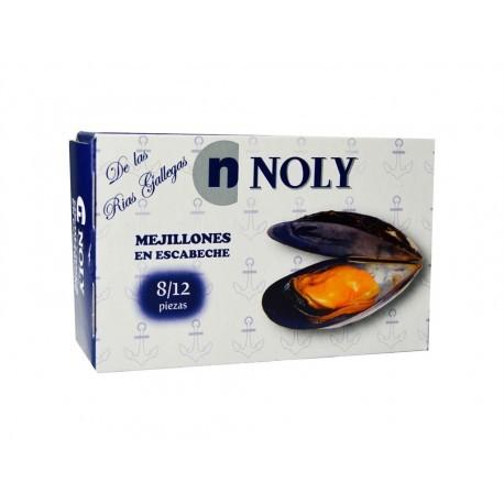 Noly Mejillones en Escabeche Lata 112g (8-12ud)