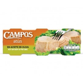 Atun Campos Aceite Oliva Ro-80 Grs Pk-3