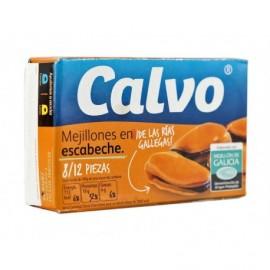 Calvo Salsa Di Escabeche Di Cozze Scatola 115g 8-12 unità