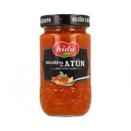 Hida 355g glass jar Bolognese sauce with tuna