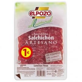 Elpozo Salchichón Lonchas All Natural Envase 70g