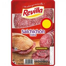Revilla Salchichón Extra Bandeja 70g