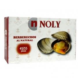 Noly Coques naturelles Conserve 102g (45-55 unités)