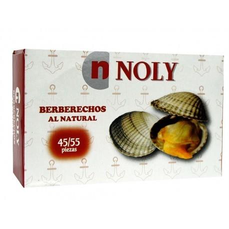 Noly Berberechos al Natural Lata 102g (45-55ud)