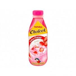 Choleck Batido de Fresa Botella 1l