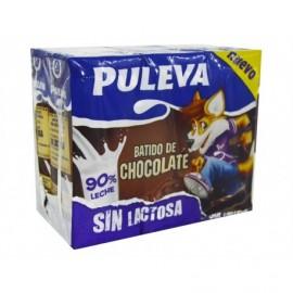 Puleva 6x200ml pack Lactose-free chocolate milk drink