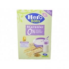 Hero 340g box 8-grain porridge 0% added sugars