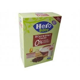 Hero Papilla 8 Cereales con Cacao Caja 340g