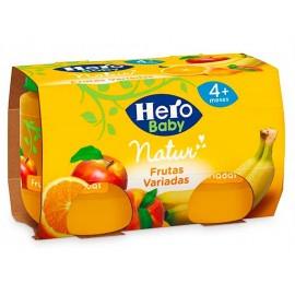 Hero Potitos de Frutas Variadas Pack 2x120g