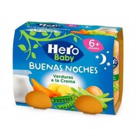 Hero Potitos de Verduras a la Crema Pack 2x190g