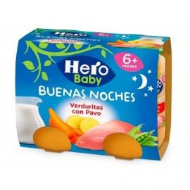 Hero Potitos de Verduritas con Pavo Pack 2x190g