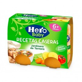 Hero Potitos Jardinera de Ternera Pack 2x190g